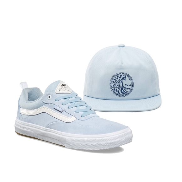 90133d6e523 Vans x Spitfire Walker Pro Blue Hat Shoe Combo Lot